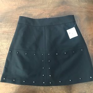 Zara black miniskirt with cute studs
